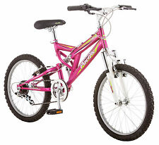 Pacific 20 inches Girl's ATB Full Suspension Shire Bike Bicycle - Pink