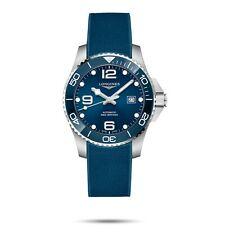 Longines Hydroconquest 21mm RUBBER STRAP BLUE (fits: 41mm & 43mm)