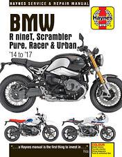 Haynes BMW R NineT Scrambler Pure Racer & Urban 2014 - 2018 Manual 6402