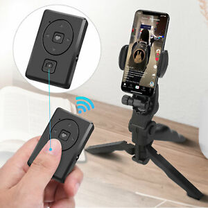 Wireless Bluetooth Selfie Camera Shutter Remote Control for iPhone Android Phone