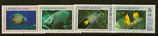 Isole Cayman:1990 Angelfish Set SG 707-10 Unmounted MINT