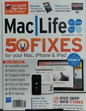 Mac Life Sept 2017 50 Fixes For Your Mac iPhone & iPad iTunes FREE SHIPPING sb