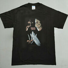 New Vtg Freddy Vs Jason T-Shirt Medium Movie Horror Kreuger Vorhees Friday