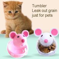 Pet Puppy Cat Dog Tumbler Feeder Leakage Food Dispenser Treat Ball Mice Toy