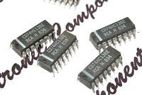 4PCS - RCA CD74HC13BE DIP-16 Integrated Circuit / IC - NOS
