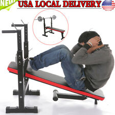 New Adjustable Weight Bench Dumbbells Lifting Incline Flat Decline Press Workout