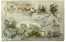 CPA - Carte Postale - Fantaisie - Le Langage des Fleurs - 1912 (M7897)