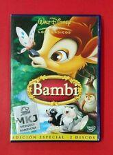 Bambi - DVD - 2 Discos - Walt Disney - USADO - MUY BUEN ESTADO
