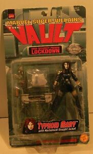 Marvel Super-Villains Typhoid Mary with Mechanical Straight Jacket The Vault