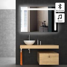 New 2019 LED Illuminated Sensor Demister Bluetooth Demister Bathroom Mirror 7*12