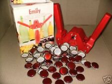 Ferrari Emily Crown Capper pour Home Brew beer bottle. avec 100 métal libre Caps.