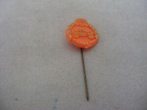 BC 10 MAART 1966 Orange Vintage Foreign Mens Hat Stick Pin Advertising