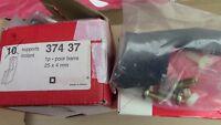 4 x SUPPORT POUR BARRE 25x4mm , ACCESSOIRES COFFRET ELECTRIQUE LEGRAND 374 37
