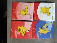 McDonalds Pokemon Card Packs 25th Anniversary Lot Of Four 1,3,3,3 Unopened