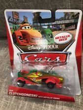 RIP CLUTCHGONESKI metallic deco CHASE disney pixar cars 2 k-mart days exclusive