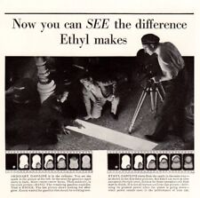 Vintage ad Print 1932 Buy Ethyl Gasoline Gas Campbells Vegetable Soup art ad