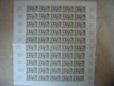 FEUILLET 50 TIMBRES NEUFS FRANCE SALERS 65 C. 1974 Y & T N° 1793 TTBE