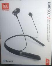 JBL LIVE 200BT Wireless Bluetooth in-Ear Headphones - Black