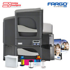 Fargo DTC4500e Dual Sided ID Card System with Dual Sided Lamination