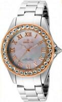 Invicta 16129 Angel Blush Morganite Bezel MOP Dial Stainless Steel Womens Watch