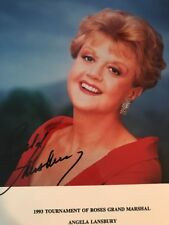 Angela Lansbury 8x10 Autograph SIGNED PHOTO JSA COA Roses Tournament