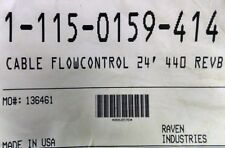 115-0159-414 RAVEN CABLE FLOW CONTROL 24' 440 MONITOR REV B