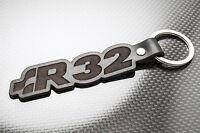 VW GOLF R32 Leather Keyring Keychain Schlüsselring Porte-clés GTI VR6 MK4 MK5