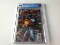 JUSTICE LEAGUE OF AMERICA 7.1 DEADSHOT 1 CGC 9.8 1ST PRINT LENTICULAR DC COMICS