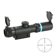 CS Scope Hunting Rifle Scope Sight SS2 4x21 AO Compact Riflescope with Lens Cap