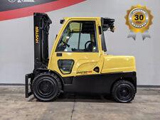 2015 Hyster H100ft 10000lb Pneumatic Forklift Diesel Lift Truck Hi Lo 9857