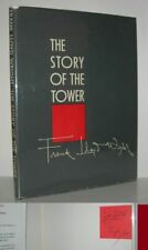 Frank Lloyd Wright / THE STORY OF THE TOWER Signed 1st Edition 1956