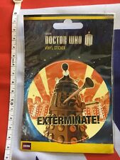 Doctor Who Pegatina de vinilo coche hogar oficina británica Sci Fi BBC Dr Culto TV Dalek BN
