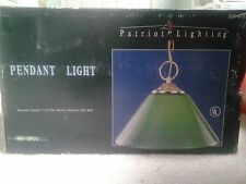 Patriot Lighting Green Pendant Ceiling Light