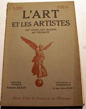 ART DECO/L'ART ET LES ARTISTES/1924/N°43/ART DECO EN 1925/ POMPON/ISLANDE