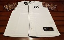 NWT~MIGGY UNISEX~TIGER JERSEY~L~URBAN COLLECTION~BASEBALL INSPIRED~LIST $45