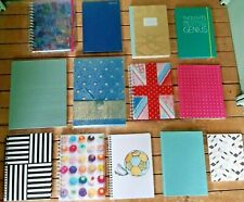 Collection Decorative Note Books Journals and Diaries B6