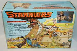 1984 Tomy Starriors Armored Battle Station Vintage Toy Playset Robot Cobra *Read