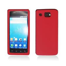 Red Silicone Skin Case Cover for Samsung Focus Flash I677