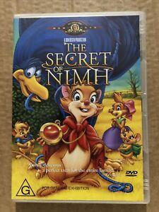 The Secret Of NIMH DVD Animation Children's Don Bluth Region 4