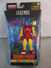 Marvel Legends Tony Très ( A.i 2021 Wave 1 Mr.hyde Hasbro KAG