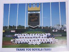 2007 Kansas City Royals 8X10 Team Picture 2008 Schedule
