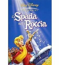 DISNEY DVD La spada nella roccia - olo tondo e celophan
