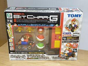Rare Tomy Tomica Bit Char-G Mario Kart Advance - MARIO Radio Remote Control Car