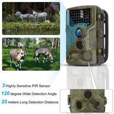 Fototrappola Mimetica Full HD Spia Videocamera Caccia Visione Note 42 IR LED