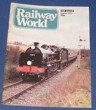 RAILWAY WORLD AUGUST 1977 - RAILWAYS OF ABERYSTWYTH