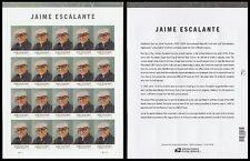 US 5100 Jaime Escalante forever sheet (20 stamps) MNH 2016
