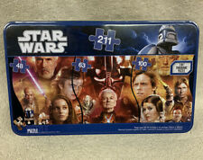 Star Wars 211 Piece 3-in-1 Panoramic Puzzle Complete