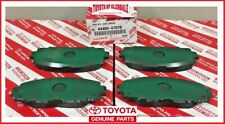 2010-2016 TOYOTA PRIUS C PLUG-IN FRONT BRAKE PADS GENUINE OEM 04465-47070