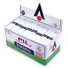 4 Stück KARAKAL Super PU Griffbänder Basisgriffband - WEISS!!!