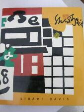 STUART DAVIS KAREN WILKIN FIRST EDITION 1987 ARTIST LARGE MODERN ARTIST PARIS NR